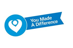 You Made a Difference award