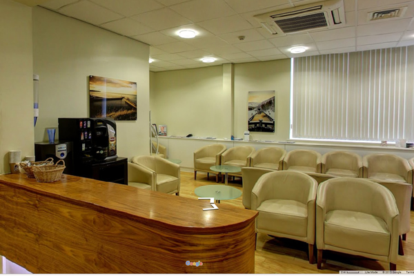 Christie Clinic Outpatients reception