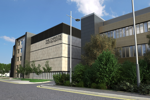Artist impression of The Christie proton beam therapy centre.jpg