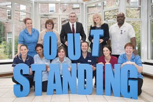 Specialist cancer hospital The Christie rated Outstanding