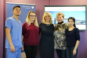 The Christie helps to train doctors in Kazakhstan