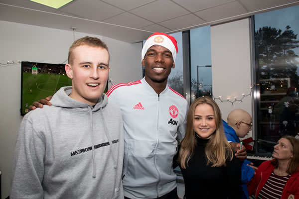 Tom meets Paul Pogba at The Christie Hospital 2.jpg