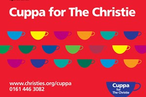 Raise a cuppa for The Christie