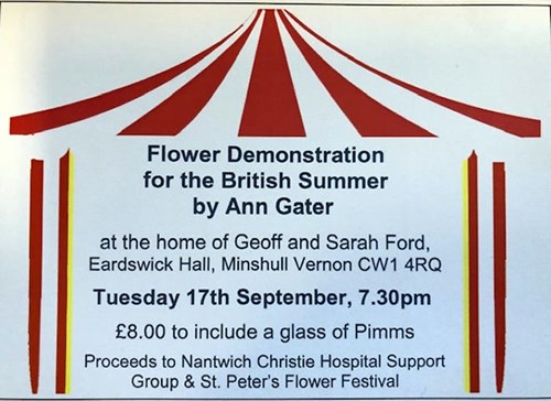 Flower Demonstration for the British Summer