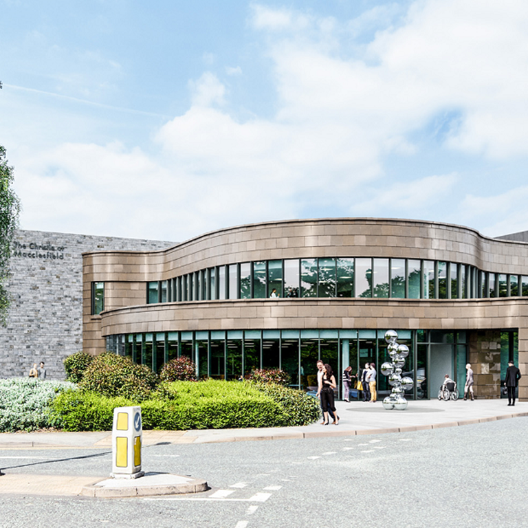 The Christie at Macclesfield cancer centre.