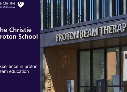 The Christie proton school courses delivered by The School of Oncology.